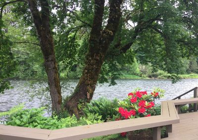 Relax and enjoy the sights and sounds of the river